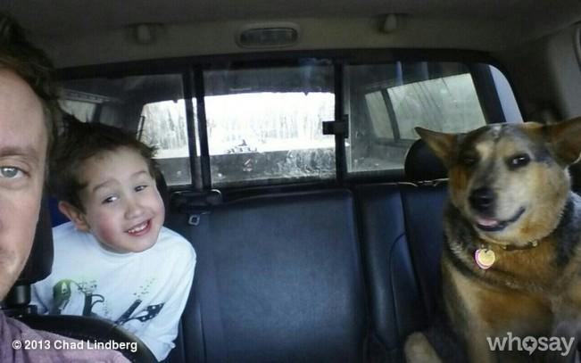Chad & his nephew