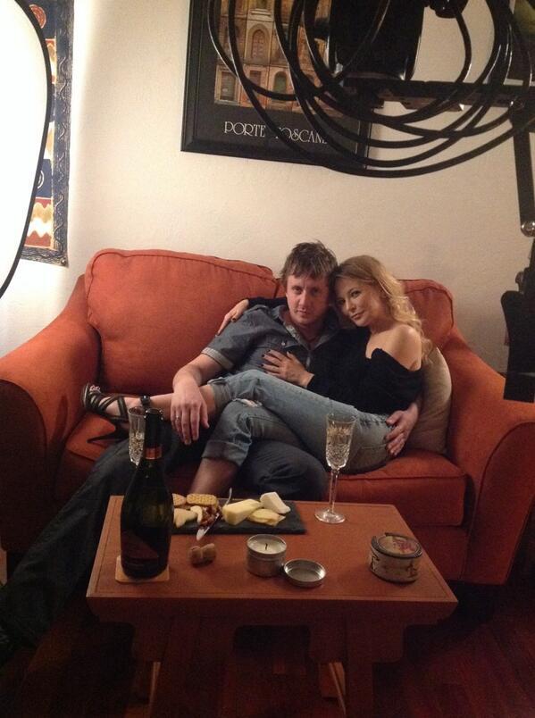 Chad Lindberg & Cerina Vincent
